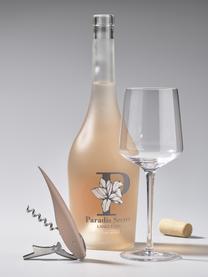 Kellnermesser Rocks mit Korkenzieher, Flaschenöffner und Kapselschneider, Stahl, Kunststoff (ABS), Silberfarben, Rosa, 2 x 13 cm