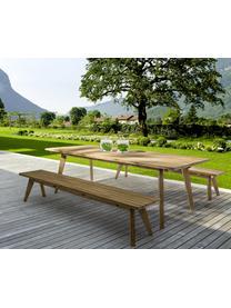 Gartentisch Kendari, Recyceltes, unbehandeltes Teakholz FSC-Zertifiziert, Teak, B 260 x T 100 cm