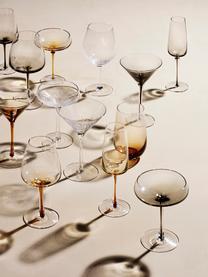 Mundgeblasene Rotweingläser Bubble mit dekorativen Luftbläschen, 4 Stück, Glas, mundgeblasen, Transparent mit Lufteinschlüssen, Ø 10 x H 22 cm