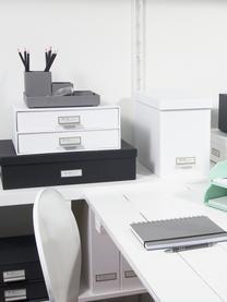 Organizador de escritorio Birger, Caja: cartón laminado, Blanco, An 33 x Al 15 cm