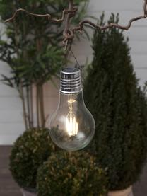 Solar Hängelampe Fille, 2 Stück, Lampenschirm: Glas, Transparent, Ø 10 x H 18 cm