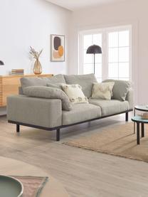 Kissenhülle Belisa mit Struktur-Oberfläche und dekorativen Quasten, 100% Baumwolle, Beige, 45 x 45 cm