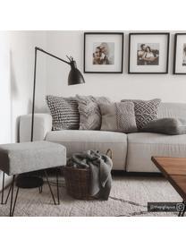 Poszewka na poduszkę Akesha, 100% bawełna, Szary, S 45 x D 45 cm