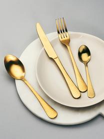 Ménagère dorée Baronet, 4 élém., Couleur laitonnée