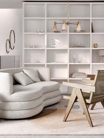 Canapé 3 places design Solomon, Tissu beige