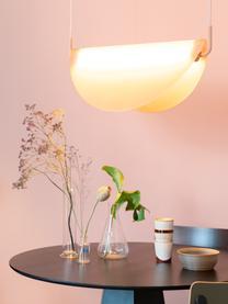 Designové závěsné svítidlo ze skla Rani, Růžová