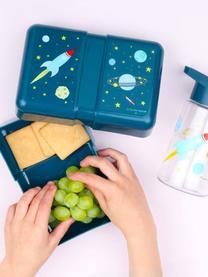 Lunchbox Space, Kunststoff, Blau, Rot, 12 x 6 cm