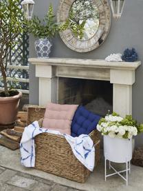 Sitzkissen Ava in Rosa, Bezug: 100% Baumwolle, Rosa, 40 x 40 cm