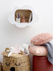 Kissen Bear, mit Inlett, Bezug: 70% Baumwolle, 30% Polyes, Rosa, Weiß, 40 x 50 cm