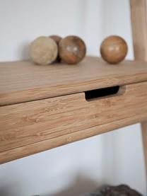 Regał drabinkowy z drewna Noble, Drewno bambusowe, Drewno bambusowe, S 70 x W 180 cm