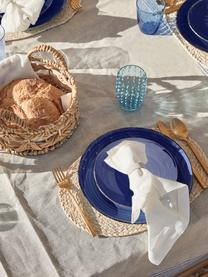 Assiette platepeinte à la main Baita, 6pièces, Bleu