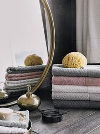 Tappeto bagno bianco Katharina, 100% cotone, qualità pesante, 900g/m², Bianco, Larg. 50 x Lung. 70 cm