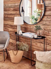 Kovový konzolový stolek Harper, Černá