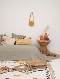 Tagesdecke Agata in Hellgrün mit Zierstich, 100% Baumwolle, Hellgrün, B 180 x L 260 cm (für Betten bis 160 x 200)