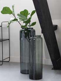 Vaso da terra in vetro Right, Vetro, Grigio, Ø 25 x Alt. 70 cm