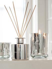Diffuser Excellent (Zuckerwatte), Behälter: Glas, Silberfarben, Ø 9 x H 28 cm