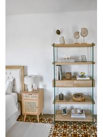 Table de chevet rustique Cayetana, Brun