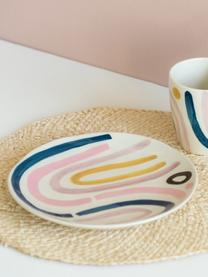 Assiette à dessert design Linha, 2pièces, Multicolore