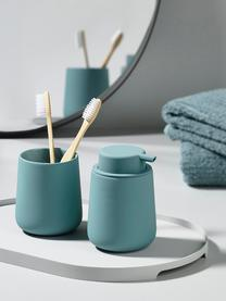 Porzellan-Seifenspender Nova One, Behälter: Porzellan, Blau, Ø 8 x H 12 cm