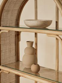 Wandrek Bali, Rotan, glas, Bruin, 83 x 173 cm