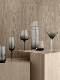 Kieliszek do wódki ze szkła dmuchanego, 6 szt., Szkło, Szary, Ø 5 x W 6 cm