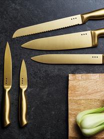 Set coltelli Master Class 6 pz, Acciaio rivestito, Nero, ottonato, Set in varie misure