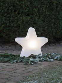 Bodenleuchte Star mit Stecker, Lampenschirm: Kunststoff, Weiß, 46 x 50 cm