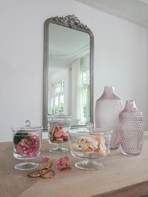 Handgefertigte Aufbewahrungsdose Poesia, Glas, Transparent, Ø 19 x H 18 cm
