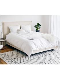 Pościel z satyny bawełnianej Comfort, Biały, 155 x 220 cm