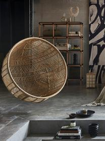 Sedia a poltrona sospesa in rattan Structure, Rattan, Ø 108 x Alt. 83 cm
