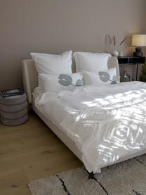 Narzuta z pikowanym wzorem Faith, 100% bawełna, Biały, S 240 x D 260 cm (na łóżka do 160 x 200)