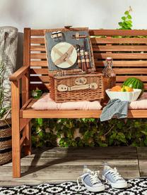 Gartenbank Somerset, klappbar, Akazienholz, geölt, Akazienholz, B 118 x T 62 cm