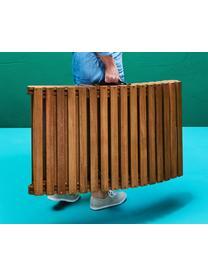 Transat en bois avec matelas rembourré Sun Waver, Bois d'acacia