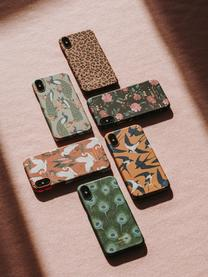 Hülle Sunset Lagoon für iPhone X, Silikon, Terrakotta, Mehrfarbig, 7 x 15 cm