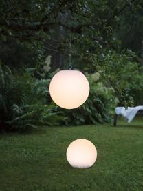 Solar Bodenleuchte Globy, Lampenschirm: Kunststoff, Weiß, Ø 25 x H 23 cm