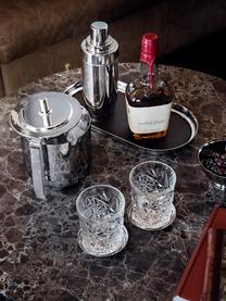 Edelstahl-Eiseimer Manhattan mit Eiszange, 2er-Set, Edelstahl, hochglanzpoliert, Edelstahl, Set mit verschiedenen Größen