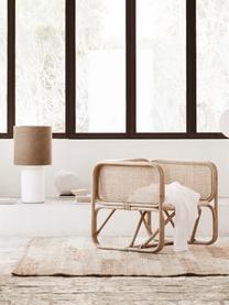 Rattan-Loungesessel Puglia, Rattan, Braun, B 70 x T 70 cm