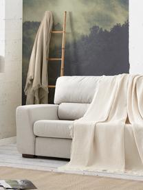 Wielofunkcyjna narzuta na sofę Amazonas, 80% bawełna, 20% inne włókna, Odcienie kremowego, S 180 x D 260 cm