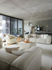 Modulares Sofa Lennon (3-Sitzer) in Beige, Bezug: Polyester Der hochwertige, Gestell: Massives Kiefernholz, Spe, Füße: Kunststoff, Webstoff Beige, B 238 x T 119 cm