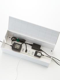 Kabel-Box Web, Kunststoff (Polycarbonat), Polyresin, Weiß, 40 x 15 cm