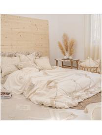 Poszewka na poduszkę Lienzo, Bawełna, Złamana biel, S 45 x D 45 cm