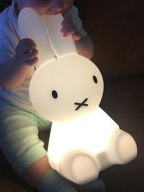 LED-Tischleuchte Miffy First Light, Silikon, frei von BPA, Weiß, 15 x 30 cm