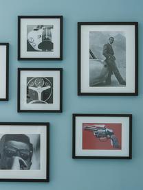 Impression photographique encadrée Connery, Noir, blanc