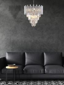 Lustre design chrome Madison, Couleur chrome, transparent