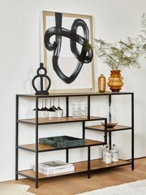 Glas-Vase Bulli, Glas, Braun, transparent, Ø 18 x H 24 cm