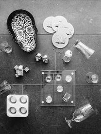 Set 9 pietre per whisky Rocking, Pietra ollare, mussola, Grigio, Larg. 2 x Alt. 2 cm