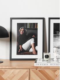 Candela profumata Parks Original (vaniglia & agrumi), Contenitore: vetro, Bianco, nero, Alt. 9 x Ø 8 cm