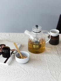 Design theepot Kettle van glas met thee-ei, Pot: glas, Transparant, 1,5 L