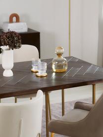 Carafe ambre/transparent faite main Colored, 1,5 L, Ambré, transparent