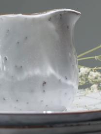 Ručně vyrobená mléčenka z kameniny Nordic Sand, 300 ml, Písková